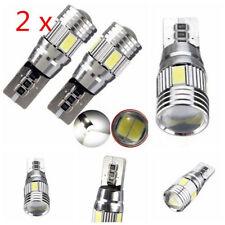 2x T10 501 194 W5W 5630 LED 6 SMD HID CANBUS ERROR FREE Car Side Wedge Light GIU
