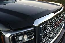 AVS 14-18 GMC Sierra 1500 Aeroskin Low Profile Acrylic Hood Shield Smoke