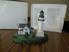 "Danbury Mint Cape Elizabeth Lighthouse, Maine 4/1/2"" tall"