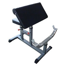 MUSCLE MOTION PREACHER CURL BENCH FOR BICEP AND ARMS EXERCISE FOR GYM WORKOUT