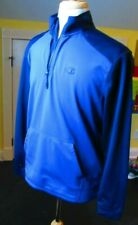 Champion Powertrain Pullover Hoodie Mens Size Large L Blue NICE!