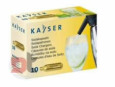 [10] Cartuchos Latas CO2 Kayser Recargas Cápsulas Para Sifón Soda Seltz