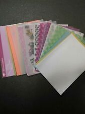 50x A4 Parchment/vellum Assorted Colours And Patterns and weights