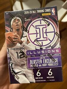 2019-20 Panini Illusions Basketball Blaster Box Factory Sealed 🔥