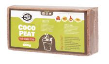 More details for coir brick | 650g (9l) | coco peat | organic | coconut fibre | growing media