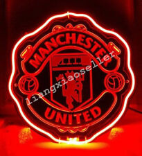 Manchester United FC Football  3D Acrylic Beer Bar Pub Real Neon Sign Free SHIP