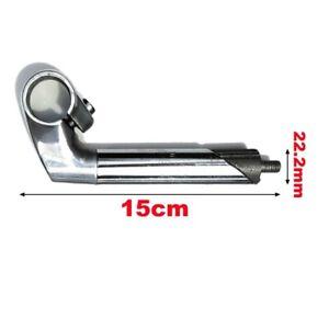 Bicicleta Bici Pluma Tallo Tubo de Subida 150mm/200mm Manillar 22.2mm Plegable