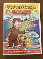 Curious George - Robot Monkey and More Great Gadget (DVD, 2009)