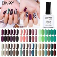 Elite99 Colour Gel Polish Nail Lacquer Manicure Top Base Coat 15ML Soak Off DIY