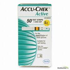 "ACCU CHEK Active 100 Test Strips. 2Box New Sealed Expiry Leisurely. "" ROCHE"""