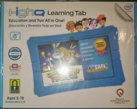 """Epik HighQ Learning Tab 8"""" 16GB Kids Tablet Blue New Activation Code Provided"""