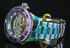 Invicta Pro Diver Skeletonized GHOST BRIDGE Abalone Dial Mechanical IRIDESCENT