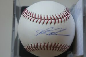 Kyle Schwarber Autographed Official MLB Baseball PSA & Fanatics Authenticated
