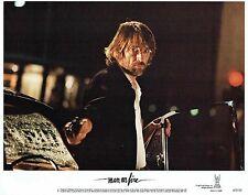MAN ON FIRE original '87 mint Lobby Card set, SCOTT GLENN thriller, Brooke ADAMS