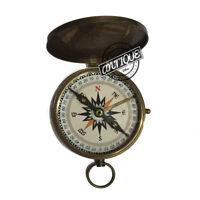 Vintage Boy Scouts of America - Navigating Compass - Oath Poem - Traveler's