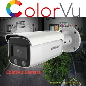 Hikvision ColorVu 4MP Bullet Full Time Color View Home Business Security Camera