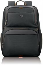 17 Inch Laptop Bag Tablet Backpack Travel Accessory School Office Padded Black