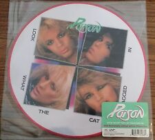 Poison LOOK WHAT THE CAT DRAGGED IN 30th Annv. LIMITED New Vinyl Picture Disc LP