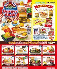 NEW! Re-ment Miniature Gudetama Burger Shop rement Full set of 8
