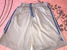 ADIDAS ~ Men's Climacool Mesh Gym Athletic Soccer Work Out Track Shorts ~ S