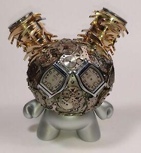Kidrobot Exquisite Steampunk Watch Parts Dunny Series THE WATCHER Dan Tanenbaum