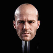 Gactoys 1/6 Soldier Head Carving Jason Statham GC023 Soldier Male Head Sculpture