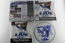PLAY STATION PS1 PSX NBA LIVE 2001 COMPLETO PAL ESPAÑA