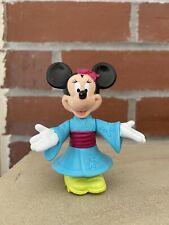 New listing Disney Minnie Mouse In Kimono Epcot Center Toy Vintage Mini Action Figure