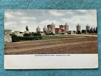 Entrance to Swope Park, Kansas City Missouri Vintage 1907 Postcard