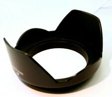 67mm  lens hood shade  screw in  plastic petal shaped wide angle