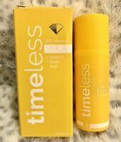 New Timeless 20% Vitamin C Vitamin E Ferulic Acid Serum 1 fl oz / 30 ml