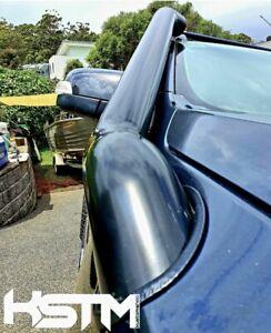 Ford Ranger stainless snorkel px-px2/wildtrak. seamless/satin black••