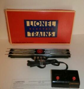 Lionel 6-5530 O Gauge Operating Track Section EX/Box