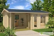 44 mm Gartenhaus Brighton 44 390 x 540 Lasita Maja Gerätehaus Blockhaus Holz