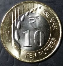 India Republic 2019-B 10 Rupees new series Unc coin.