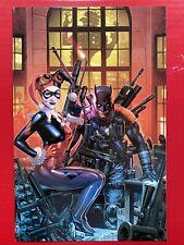 The Batman Who Laughs: The Grim Knight #1 - Jay Anacleto VIRGIN VARIANT (Harley)