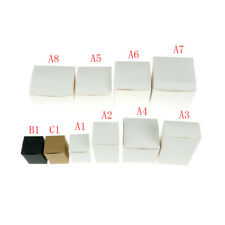 White Black Kraft box for packaging 1pcs/lot Brown handmade soap paper boxes tb