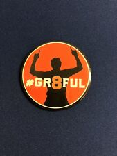 San Francisco Giants Hunter Pence #GR8FUL Pin / Button 2018 AT&T Park Giveaway