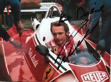 Niki LAUDA: Signed 5x6 F1 World Champion Photo, autograph, super, Ferrari legend