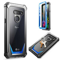 Poetic Shockproof Case For LG G8 ThinQ Cover with Screen Protector Blue
