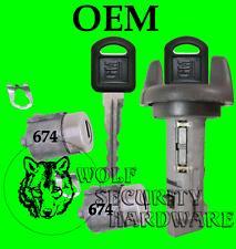 Chevy GMC Pickup Others Ignition Key Switch Cylinder & Door Lock Set 2 GM Keys