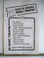I OUGHT TO BE IN PICTURES Playbill FRANK GORSHIN / NEIL SIMON Beverly, MA 1982