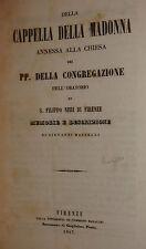 Arte - G. Masselli: Cappella Madonna Congregazione Oratorio Filippo Neri 1847