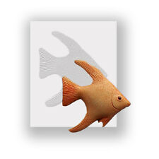 Silicone Mould - Tropical  Fish - Flat Backed Mini Sculpture - Food Safe