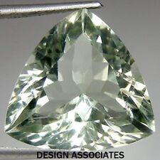 Green Amethyst  12 MM Trillion  A MUST SEE GEMSTONE