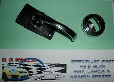 Fiat 500 124 125 Manija de la puerta de la palanca de metal cromado Pull & envolvente de Plástico Cromado
