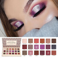 FA- 18 Colors Shimmer Matte Eyeshadow Palette Glitter Eye Shadow Makeup Cosmetic