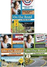 On the Road with Charles Kuralt DVD Set 1-3 Lot Bundle Series TV Show Colelction