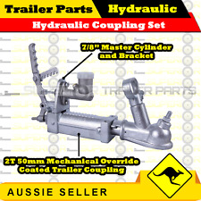 "Superior Hydraulic Override Coupling , 7/8"" Master Cylinder and Bracket"