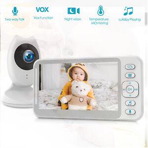 "Campark 4.3"" Split Screen Baby Monitor Camera Video Digital Cam IR Night Vision"